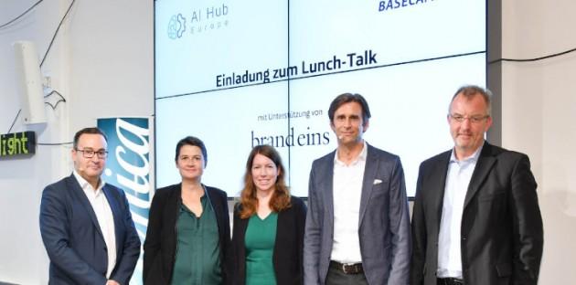 Lunch-Talk von AI Hub Europe