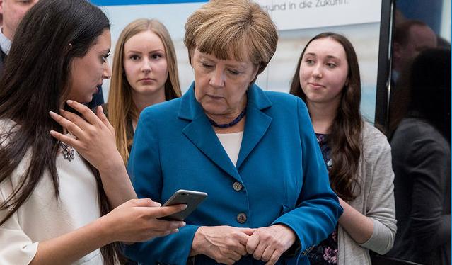 Angela Merkel by Techniker Krankenkasse CC-BY-NC-ND-2.0