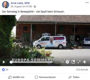 Arne Lietz, Facebook2