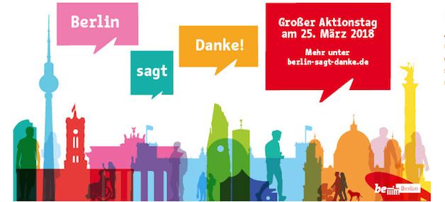 Berlin sagt Danke