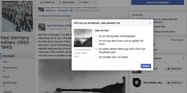 NetzDG, Shadowban und Facebook-Löschung