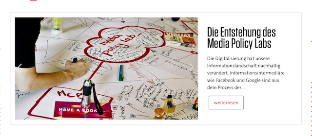 Media Policy Lab