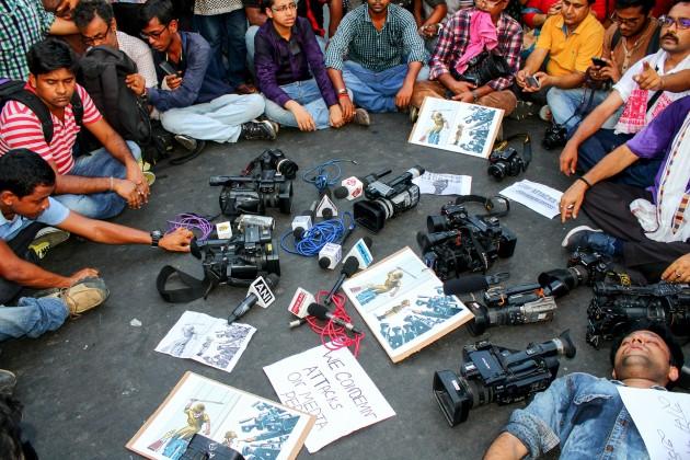 2017: 65 Journalisten und Medienmitarbeiter getötet